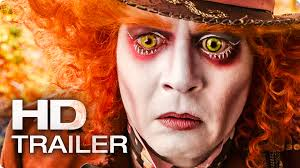 alice in wonderland halloween horror nights alice in wonderland 2 through the looking glass trailer 2016