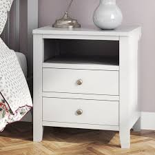 side table 2 drawers amelie 2 drawer bedside table dunelm stunning bed side tables with