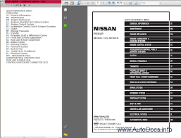 nissan pickup d22 series repair manual order u0026 download