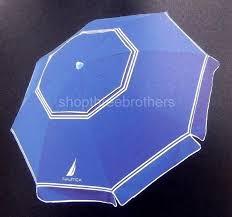 Beach Sun Umbrella 7 U0027 Foot Blue 2 Way Tilt Sun Beach Umbrella Upf 50 Carry Bag