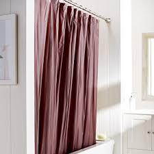 Burgundy Shower Curtain Liner Burgundy Shower Curtain