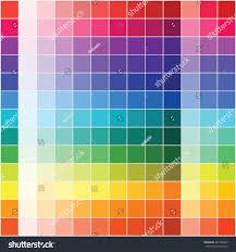 flat color palette vector stock vector 461326855 shutterstock