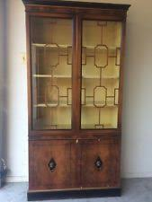 Shelves With Glass Doors by Glass Door Bookcase Ebay