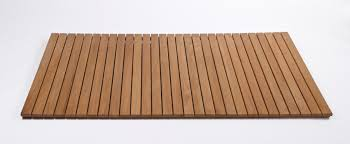 Teak Shower Mat Extra Long Rubber Bath Safety Mat Full Image For Bathroom By