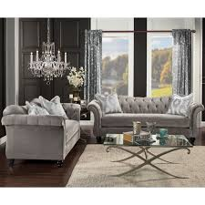 Gray Living Room Set Grey Living Room Furniture Sets For Less Overstock