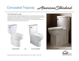 Modern Bathroom Toilets by American Standard 3075 000 3075 Toilet Bowl Build Com
