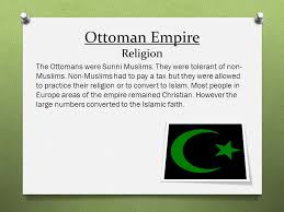 Ottoman Religion The Ottoman Safavid And Mughal Empires Ppt
