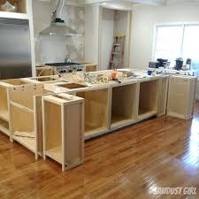 kitchen island base cabinets kitchen island from stock cabinets proxartco for build kitchen