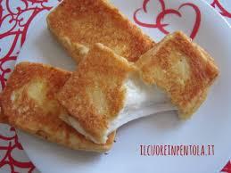 mozzarella in carrozza messinese mozzarella in carrozza ricetta mozzarella in carrozza