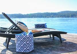 lake house dock tour with our new fab outdoor furniture the
