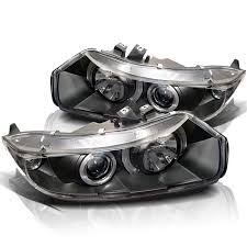 honda civic headlight spyder auto honda civic 06 08 2dr projector headlights led