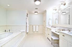 Bathroom With Beadboard Walls by Cream Beadboard Walls Design Ideas