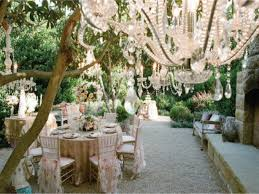 beautiful garden decoration for wedding garden design