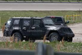 first jeep next gen 2018 jeep wrangler spied testing for the very first time