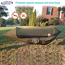 amazon com g4free portable u0026 foldable camping hammock mosquito