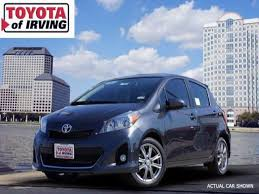 toyota yaris for sale 2014 toyota yaris for sale in irving toyota of irving