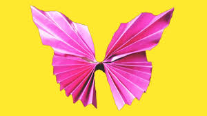 origami paper butterfly easy paper butterfly craft for kids