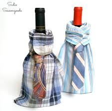 wine bottle gift bags men s shirt and tie diy wine liquor bottle gift bag