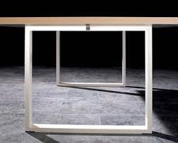 pieds de bureau artdesign bureaux design avec plateaux mélaminéhêtre ou blanc uni