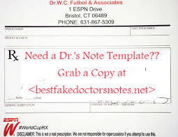 doctors note for sick leave template best 25 leave