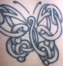 celtic butterfly tattoomagz