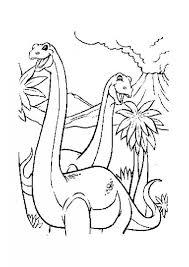 dinosaur couple coloring pages hellokids