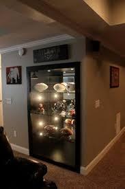sports memorabilia basement houzz home design decorating and