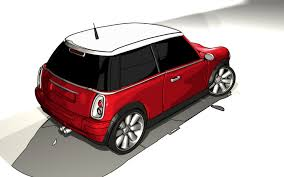 mini cooper sketch and toon by letsmac on deviantart