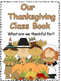 thanksgiving class book what we are thankful for by 123kteach tpt