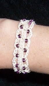 beaded bracelet crochet images Introduction to crochet beaded bracelet wikibooks open books jpg
