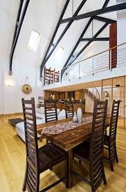apartments charming loft design ideas interior cabin railing