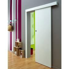 prix porte de chambre ferrure pour système coulissant en applique prima à peindre