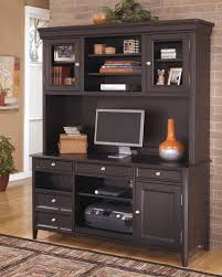 Ashley Office Desk by Furniture Dark Brown Wooden Office Desks With Hutch Combined By