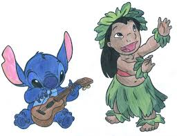 drawn pencil lilo and stitch pencil and in color drawn pencil
