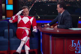 Bryan Cranston House Bryan Cranston Morphs Into Red Power Ranger For Colbert People Com