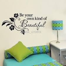 Beautiful Wall Stickers For Room Interior Design 38x80cm Be Own Kind Of Beautiful Wall Art Stickers Living Room