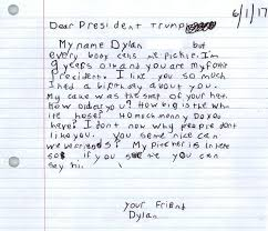 yes dylan u0027pickle u0027 the nine year old who wrote donald trump fan