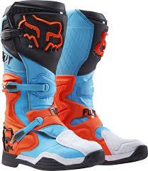 fox dirt bike boots fox racing new 2017 mx comp 8 dirt bike blue aqua orange