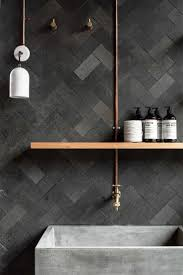 fascinating black tiles in bathroom ideas white and brown search