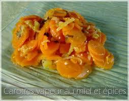 que cuisiner avec des carottes carottes vapeur au miel et épices aud à la cuisine