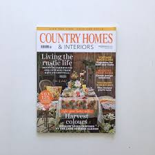 country homes and interiors recipes print coverage neon rocks results press media coverage