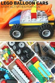 monster trucks trucks for children lego balloon car diy lego building kit stem activity