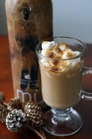 toasted marshmallow caramel macchiato holiday cocktail garnish