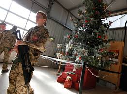 Pictures Of Christmas Decorations In Germany Troops In Afghanistan Celebrate Christmas