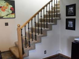 Replace Stair Banister Carpet Stairs With Spindles Thesecretconsul Com