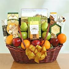 fruit and nut gift baskets fruit cheese nuts and meat gift basket with