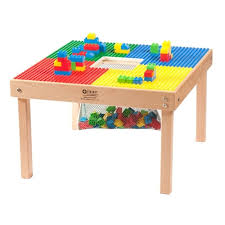 duplo table with chairs medium sized or duplo mega compatible fun builder block table