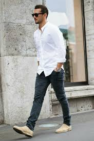 Celebrity Clothing For Men How To Wear Casual Shirt On The Street Casual Shirts Men U0027s