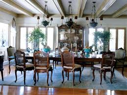 Country French Inspired Dining Room Ideas - French country dining room