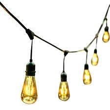 Decorative Patio String Lights Furniture Solar Edison Patio String Lights Backyard Led String